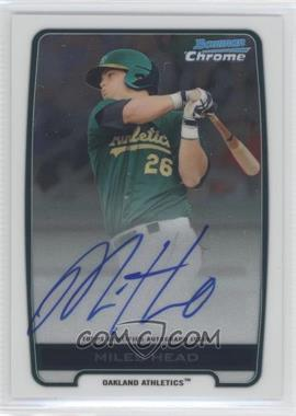 2012 Bowman Draft Picks & Prospects Chrome Prospects Certified Autographs [Autographed] #BCA-MH - Miles Head