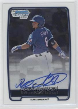 2012 Bowman Draft Picks & Prospects Chrome Prospects Certified Autographs [Autographed] #BCA-RO - Rougned Odor