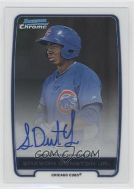 2012 Bowman Draft Picks & Prospects Chrome Prospects Certified Autographs [Autographed] #BCA-SD - Shawon Dunston Jr.
