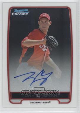 2012 Bowman Draft Picks & Prospects Chrome Prospects Certified Autographs [Autographed] #BCA-TC - Tony Cingrani