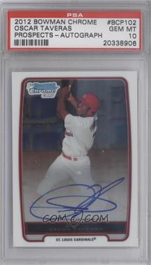 2012 Bowman Draft Picks & Prospects Chrome Prospects Certified Autographs [Autographed] #BCP102 - Oscar Taveras [PSA 10]