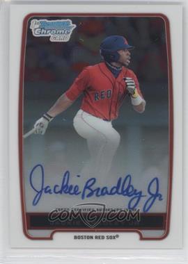 2012 Bowman Draft Picks & Prospects Chrome Prospects Certified Autographs [Autographed] #BCP66 - Jackie Bradley Jr.