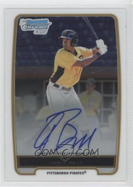 2012 Bowman Draft Picks & Prospects Chrome Prospects Certified Autographs [Autographed] #BCP79 - Josh Bell