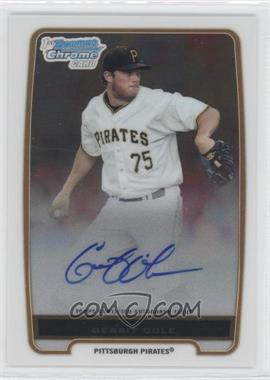 2012 Bowman Draft Picks & Prospects Chrome Prospects Certified Autographs [Autographed] #BCP86 - Gerrit Cole