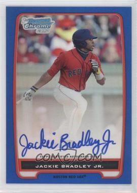 2012 Bowman Draft Picks & Prospects Chrome Prospects Certified Autographs Blue Refractor #BCA-66 - Jackie Bradley Jr. /150