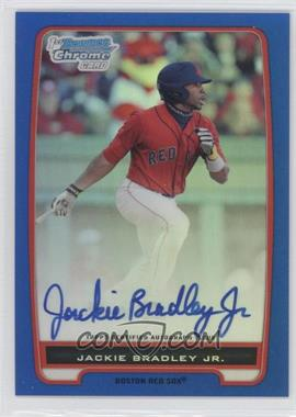 2012 Bowman Draft Picks & Prospects Chrome Prospects Certified Autographs Blue Refractor #BCP66 - Jackie Bradley Jr. /150