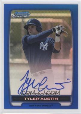 2012 Bowman Draft Picks & Prospects Chrome Prospects Certified Autographs Blue Refractor #BCPTA - Tyler Austin /150