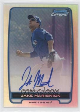 2012 Bowman Draft Picks & Prospects Chrome Prospects Certified Autographs Refractor #BCA-JM - Jake Marisnick /500