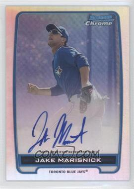 2012 Bowman Draft Picks & Prospects Chrome Prospects Certified Autographs Refractor #BCA-JM - Jake Marisnick /500