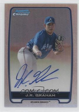 2012 Bowman Draft Picks & Prospects Chrome Prospects Certified Autographs Refractor #BCA-JRG - J.R. Graham /500