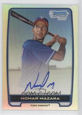 2012 Bowman Draft Picks & Prospects Chrome Prospects Certified Autographs Refractor #BCA-NM - Nomar Mazara /500