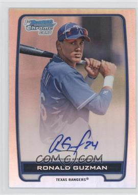 2012 Bowman Draft Picks & Prospects Chrome Prospects Certified Autographs Refractor #BCA-RG - Ronald Guzman /500