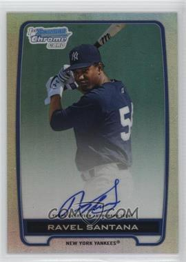 2012 Bowman Draft Picks & Prospects Chrome Prospects Certified Autographs Refractor #BCA-RS - Ravel Santana /500