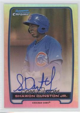 2012 Bowman Draft Picks & Prospects Chrome Prospects Certified Autographs Refractor #BCA-SD - Shawon Dunston Jr. /500