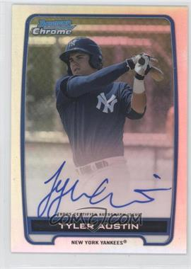 2012 Bowman Draft Picks & Prospects Chrome Prospects Certified Autographs Refractor #BCA-TA - Tyler Austin /500