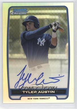 2012 Bowman Draft Picks & Prospects Chrome Prospects Certified Autographs Refractor #BCA-TA - Tyler Austin /500