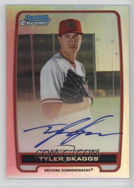 2012 Bowman Draft Picks & Prospects Chrome Prospects Certified Autographs Refractor #BCA-TS - Tyler Skaggs /500