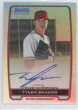 2012 Bowman Draft Picks & Prospects Chrome Prospects Certified Autographs Refractor #BCA-TS - Tyler Skaggs /500