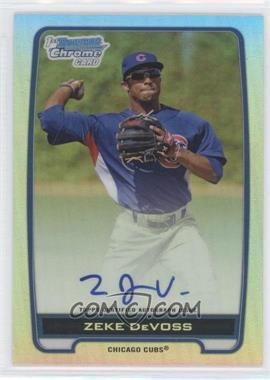 2012 Bowman Draft Picks & Prospects Chrome Prospects Certified Autographs Refractor #BCA-ZD - Zeke DeVoss /500