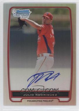 2012 Bowman Draft Picks & Prospects Chrome Prospects Certified Autographs Refractor #BCP101 - Julio Rodriguez /500