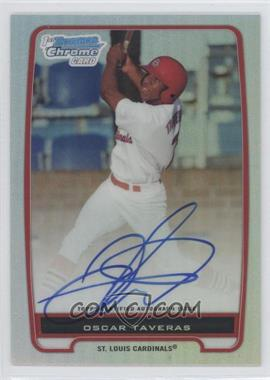 2012 Bowman Draft Picks & Prospects Chrome Prospects Certified Autographs Refractor #BCP102 - Oscar Taveras /500