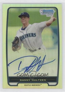 2012 Bowman Draft Picks & Prospects Chrome Prospects Certified Autographs Refractor #BCP87 - Danny Hultzen /500