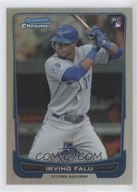 2012 Bowman Draft Picks & Prospects Chrome Refractor #26 - Irving Falu /300