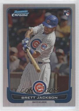 2012 Bowman Draft Picks & Prospects Chrome Refractor #53 - Brett Jackson /300