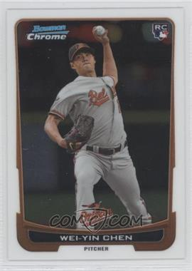 2012 Bowman Draft Picks & Prospects Chrome #45 - Wei-Yin Chen