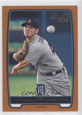 2012 Bowman Draft Picks & Prospects Draft Picks Orange #BDPP108 - Joshua Turley /250