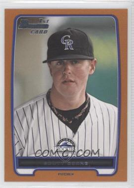 2012 Bowman Draft Picks & Prospects Draft Picks Orange #BDPP113 - Scott Oberg /250
