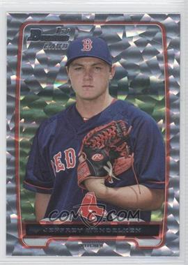 2012 Bowman Draft Picks & Prospects Draft Picks Silver Ice #BDPP89 - Jeffrey Wendelken