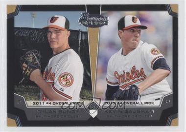 2012 Bowman Draft Picks & Prospects Dual Top 10 Picks #TP-BG - Dylan Bundy, Kevin Gausman