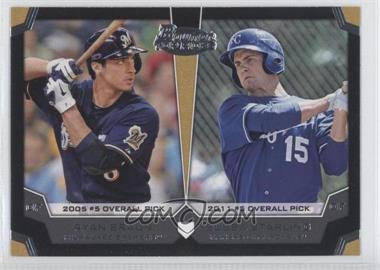2012 Bowman Draft Picks & Prospects Dual Top 10 Picks #TP-BS - Ryan Braun, Bubba Starling