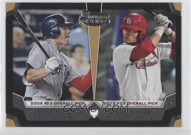 2012 Bowman Draft Picks & Prospects Dual Top 10 Picks #TP-ER - James Ramsey, Jacoby Ellsbury