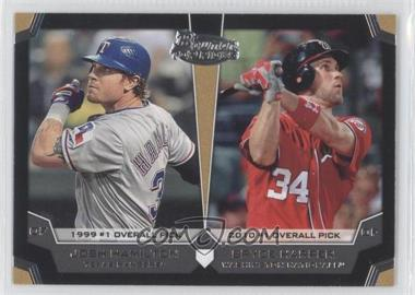 2012 Bowman Draft Picks & Prospects Dual Top 10 Picks #TP-HH - Josh Hamilton, Bryce Harper