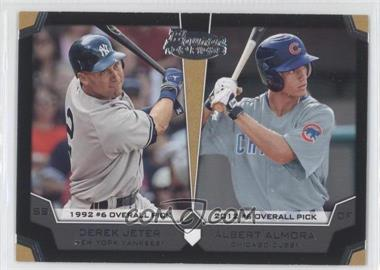 2012 Bowman Draft Picks & Prospects Dual Top 10 Picks #TP-JA - Derek Jeter, Albert Almora