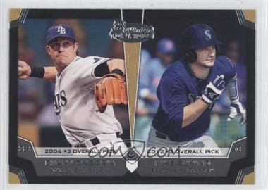 2012 Bowman Draft Picks & Prospects Dual Top 10 Picks #TP-LZ - Evan Longoria, Mike Zunino