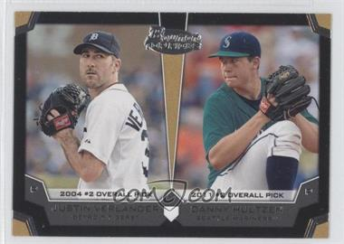 2012 Bowman Draft Picks & Prospects Dual Top 10 Picks #TP-VH - Justin Verlander, Danny Hultzen