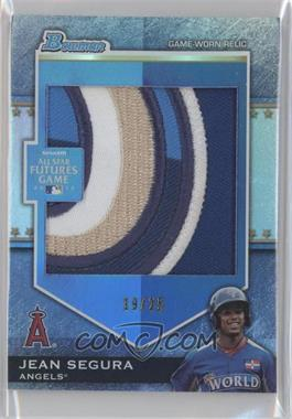 2012 Bowman Draft Picks & Prospects Futures Game Relics Jumbo Patch #FGJP-JSE - Jean Segura /25