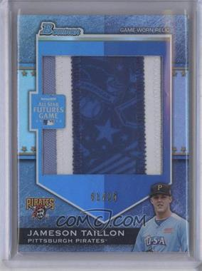 2012 Bowman Draft Picks & Prospects Futures Game Relics Jumbo Patch #FGJP-JT - Jameson Taillon /25