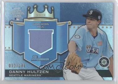 2012 Bowman Draft Picks & Prospects Futures Game Relics #FGR-DH - Danny Hultzen /199