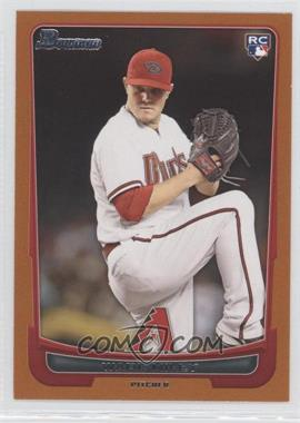2012 Bowman Draft Picks & Prospects Orange #15 - Wade Miley /250