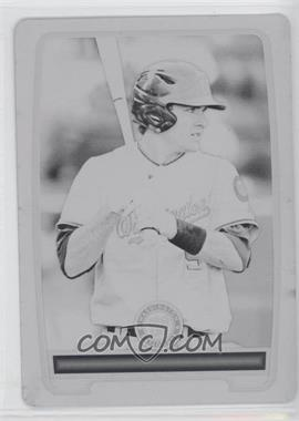 2012 Bowman Draft Picks & Prospects Prospects Printing Plate Black #150 - Hunter Bailey /1