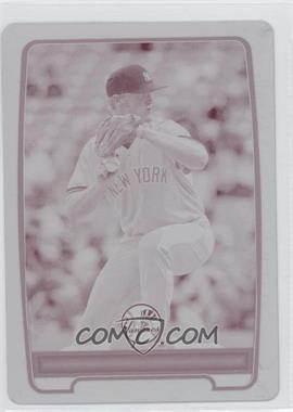 2012 Bowman Draft Picks & Prospects Prospects Printing Plate Magenta #BDPP19 - Ty Hensley /1