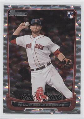 2012 Bowman Draft Picks & Prospects Silver Ice #40 - Will Middlebrooks