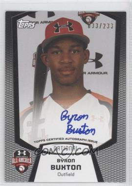 2012 Bowman Draft Picks & Prospects Under Armour All-American Autograph [Autographed] #UA-BB - Byron Buxton /233