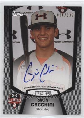 2012 Bowman Draft Picks & Prospects Under Armour All-American Autograph [Autographed] #UA-GC - Gavin Cecchini /235