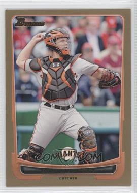 2012 Bowman Gold Border #163 - Buster Posey