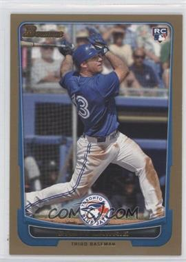 2012 Bowman Gold Border #191 - Brett Lawrie